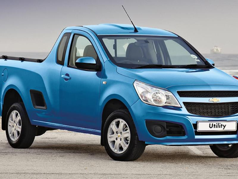 Chevrolet Utility Car Service Interval Schedule and Cost in South Africa